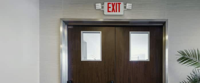 Emergency Exit Signs & Lights Ensure Safety