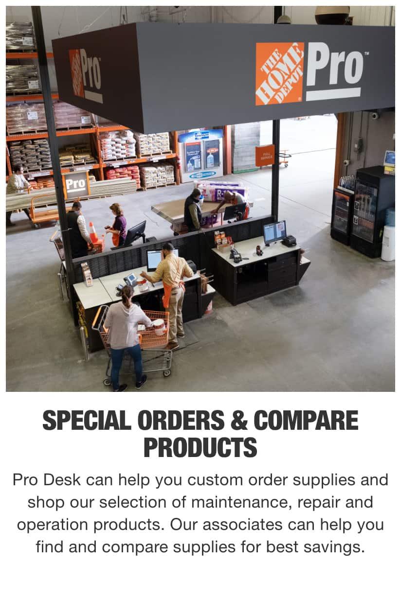 The Home Depot Pro Desk