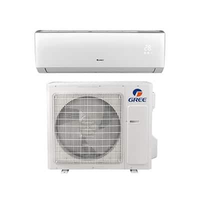 Mini split with heat pump