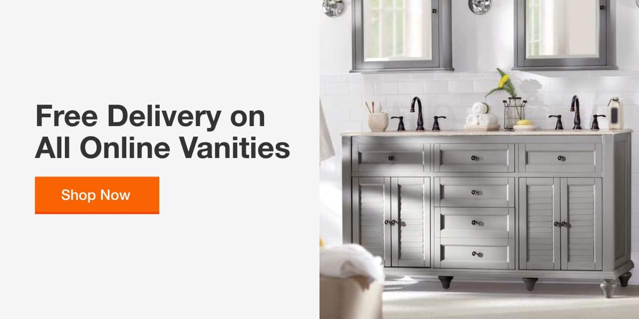 Bathroom Vanities The Home Depot