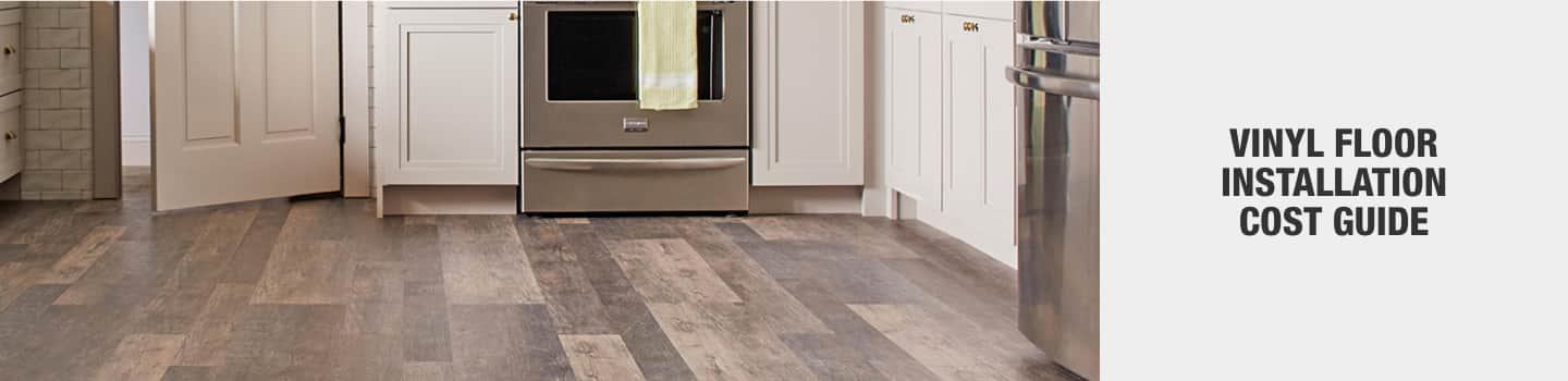 Cost To Install Vinyl Floors The Home, Installation Cost Laminate Flooring Home Depot