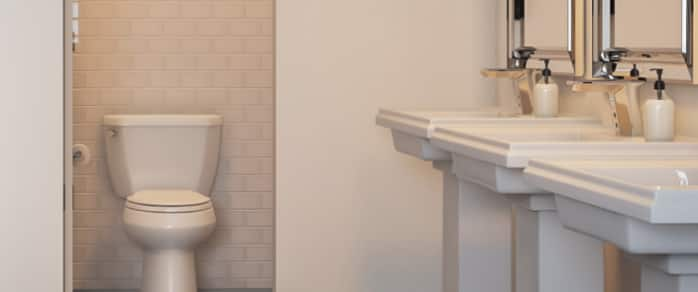 EASY TIPS FOR CLEANER RESTROOMS