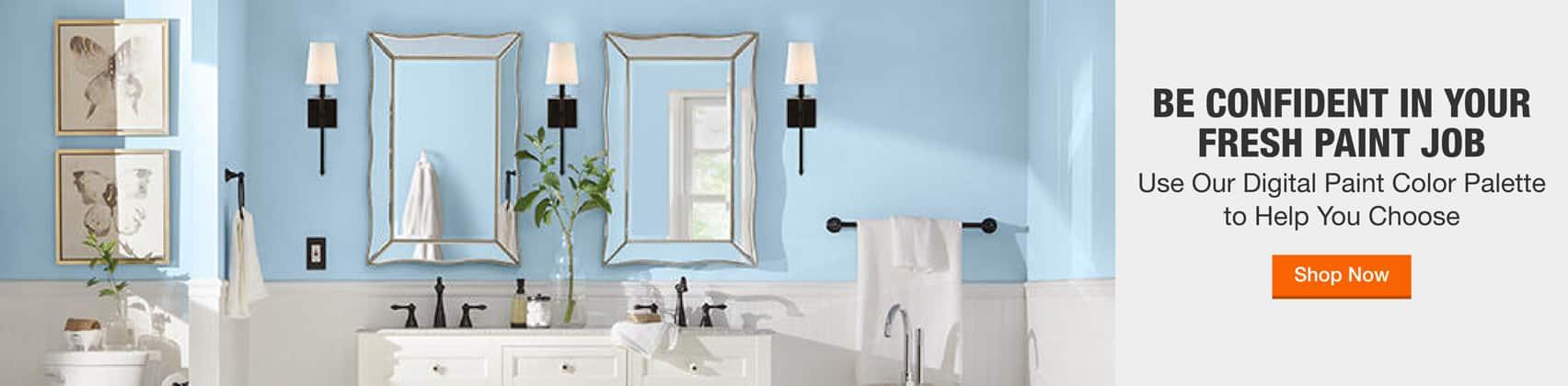 Explore bathroom paint colors