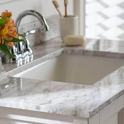 Vanity tops with sinks