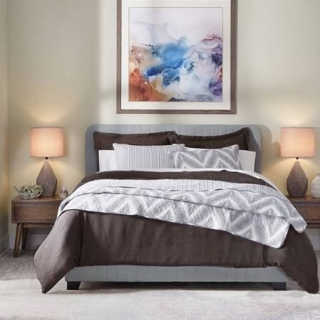 Modern moment guest bedroom