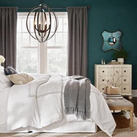 Urban modern master bedroom