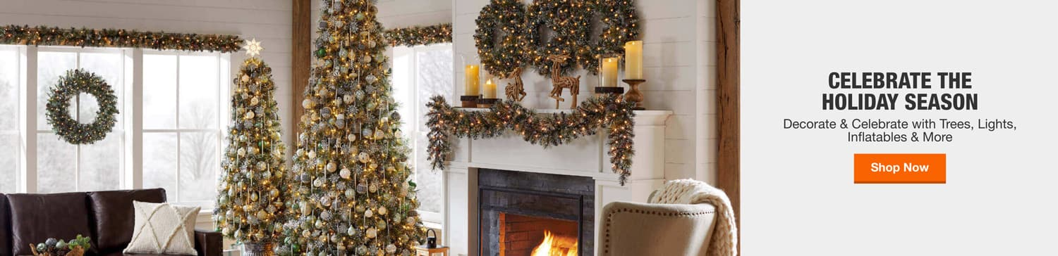 Christmas Decorations. Decorate & Celebrate with Trees, Lights, Inflatables & More