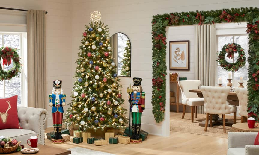 Holiday Traditions Living Room