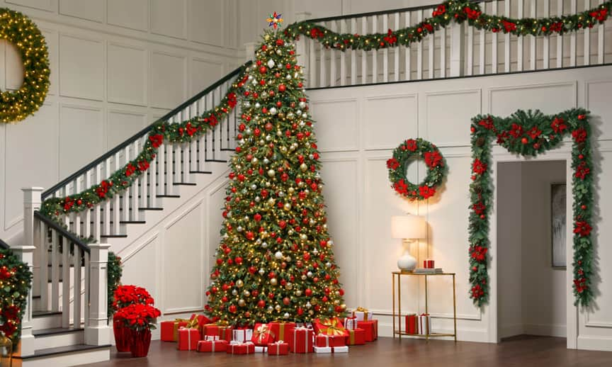 Festive Foyer