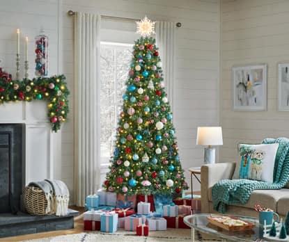 Tinsel Christmas Trees