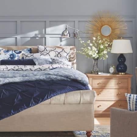 Coastal Retreat bedroom
