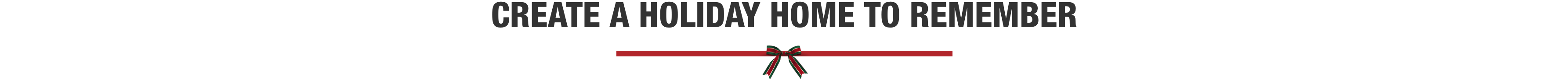 Create a Holiday Home to Remember