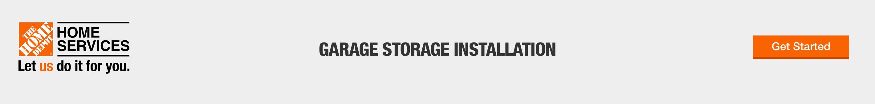 Garage Storage Installations