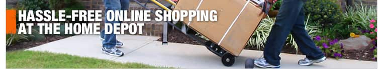 Hassle free online shopping at The Home Depot