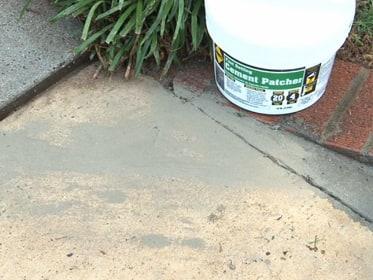 How to repair a sidewalk