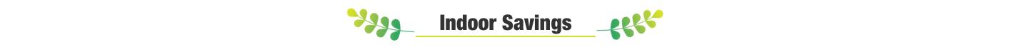 indoor savings