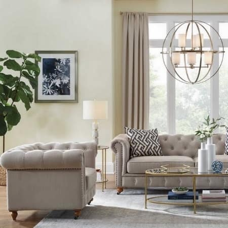 Instant classic living room