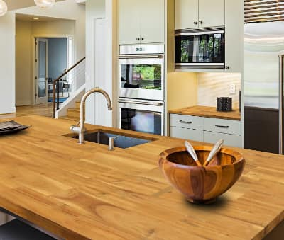 Butcher-Block Countertops