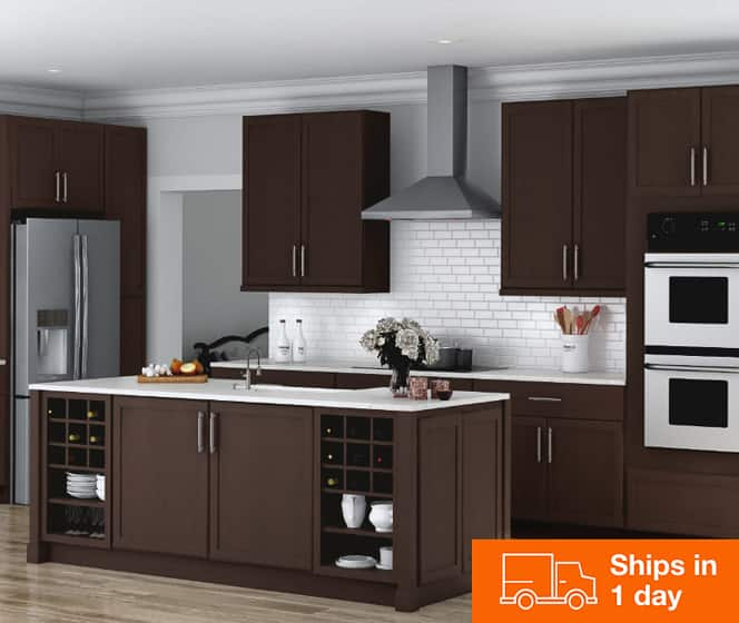 Kitchen Cabinets Color Gallery