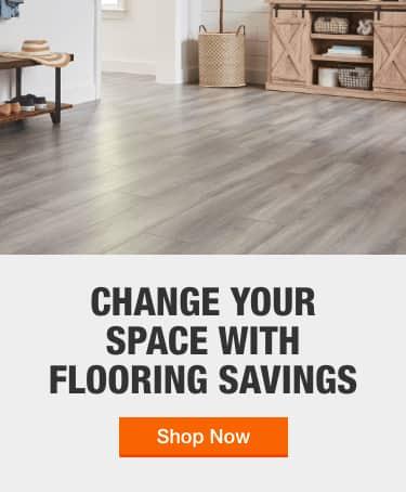 Laminate Flooring The Home Depot, Home Depot Laminate Flooring Installation Cost Per Square Foot