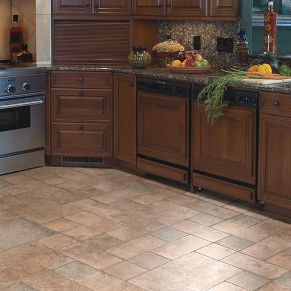 Laminate Flooring The Home Depot, Laminate Tile Flooring Kitchen