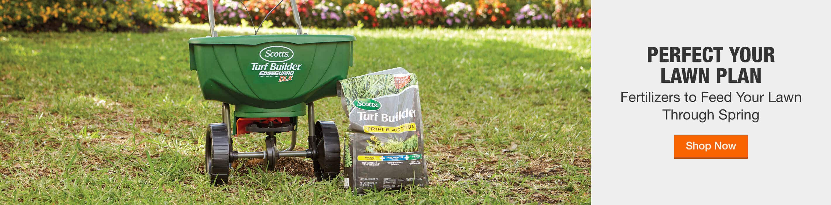 Perfect Your Lawn Plan - Fertilizers to Feed Your Lawn Through Spring. Shop Now