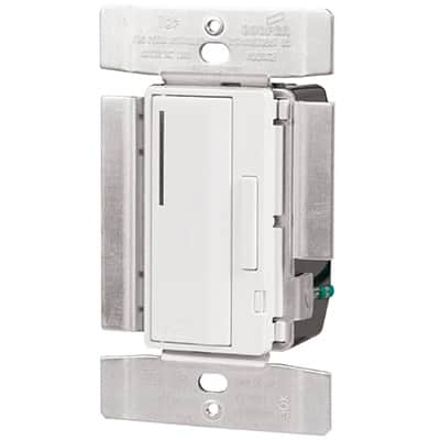 Dimmers with locator light