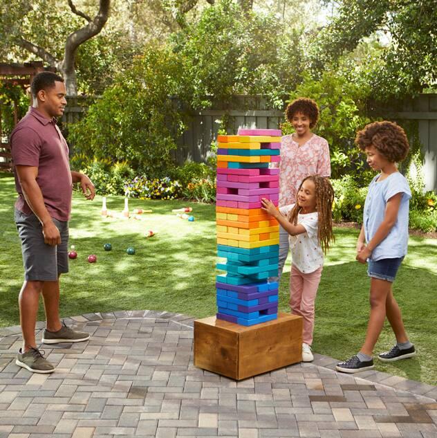 Create a DIY Stacking Blocks Game