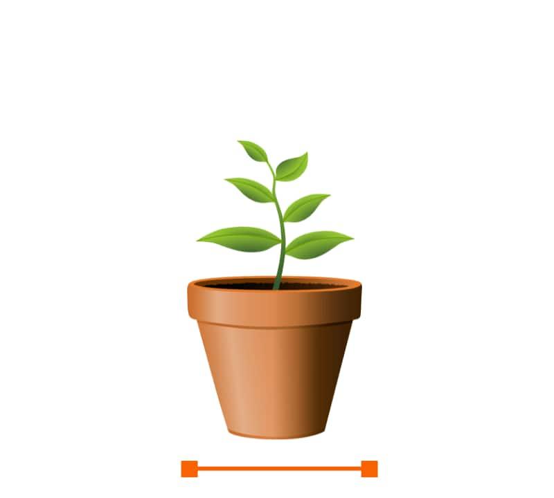 "Medium Pots and Planters 8""-14"""