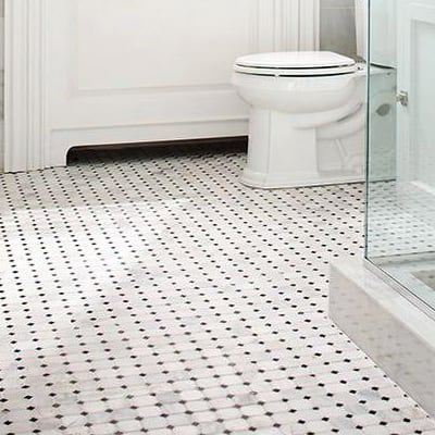 Mosaic flooring tile