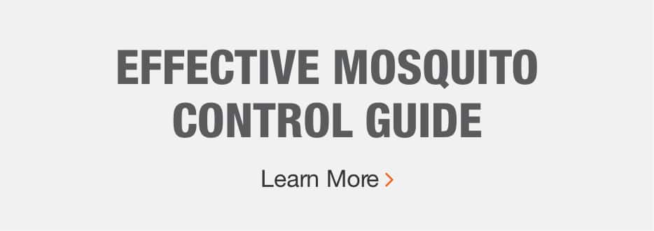 EFFECTIVE MOSQUITO CONTROL GUIDE