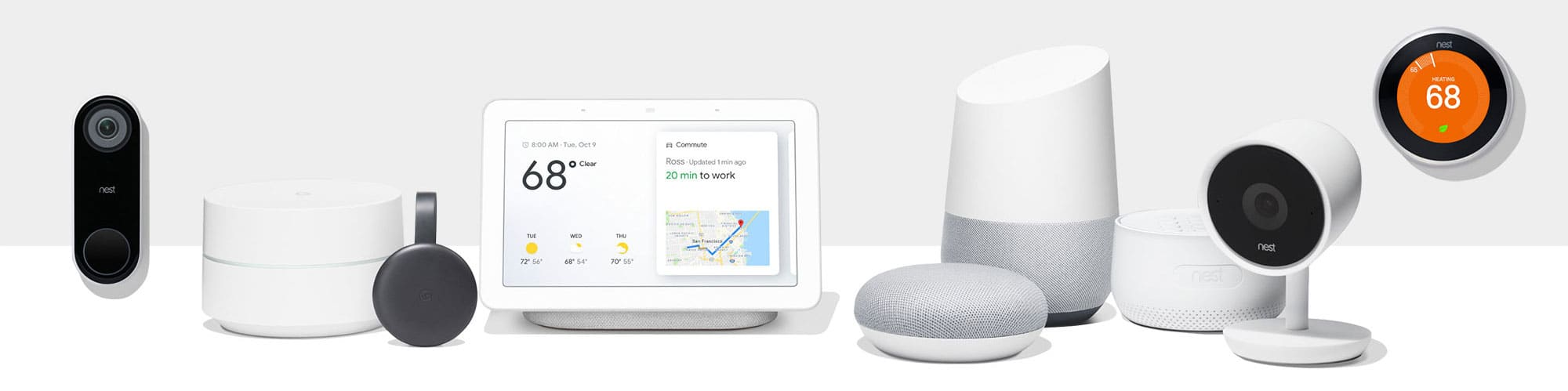 Nest and Google home under one roof