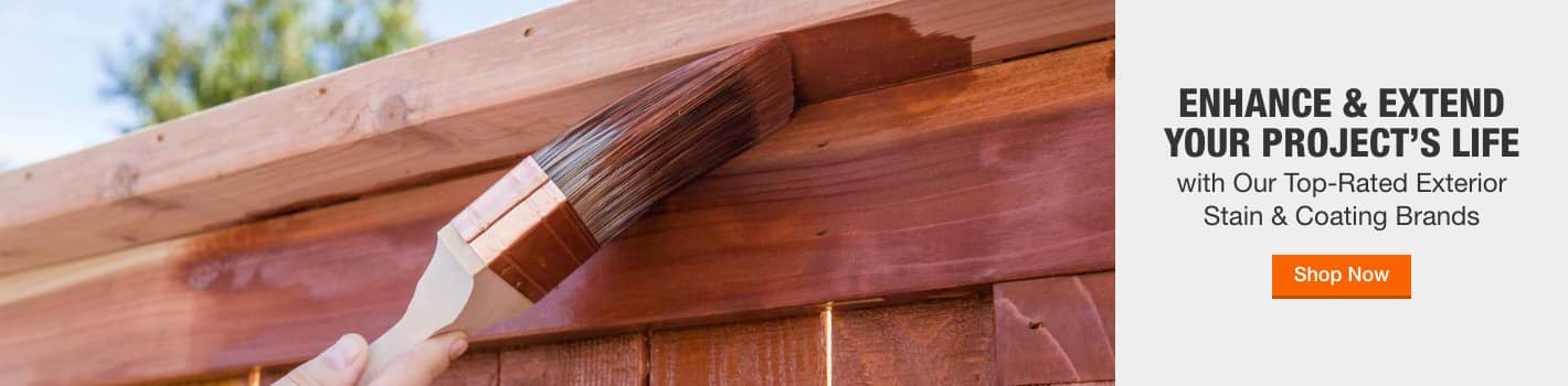 ENHANCE & EXTEND YOUR PROJECT'S LIFE with Our Top-Rated Exterior  Stain & Coating Brands