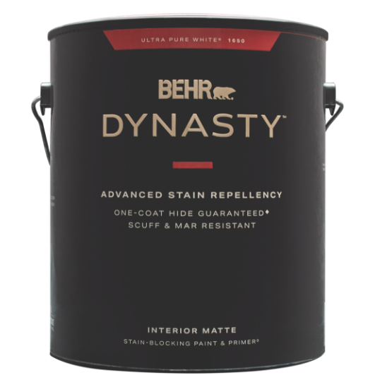 Behr Dynasty paint can