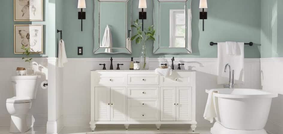 Bathroom Paint Colors The Home Depot, Home Depot Bathroom Colors