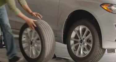 How to rotate a tire