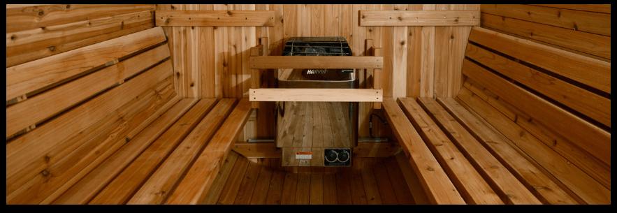 Saunas by seating capacity