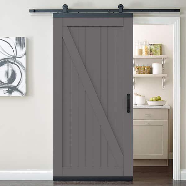 Shop barn doors