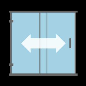 Sliding & Bypass Shower Door
