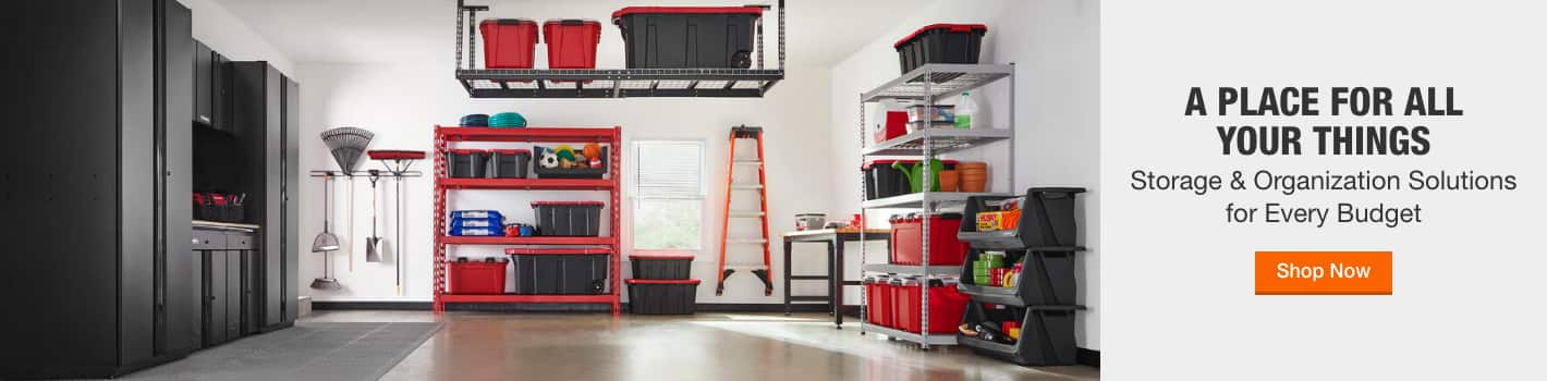 Storage & Organization Solutions for Every Budget