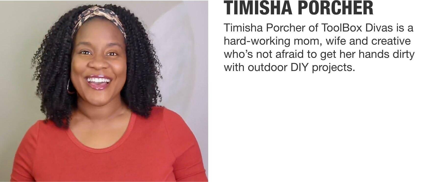 Timisha Porcher