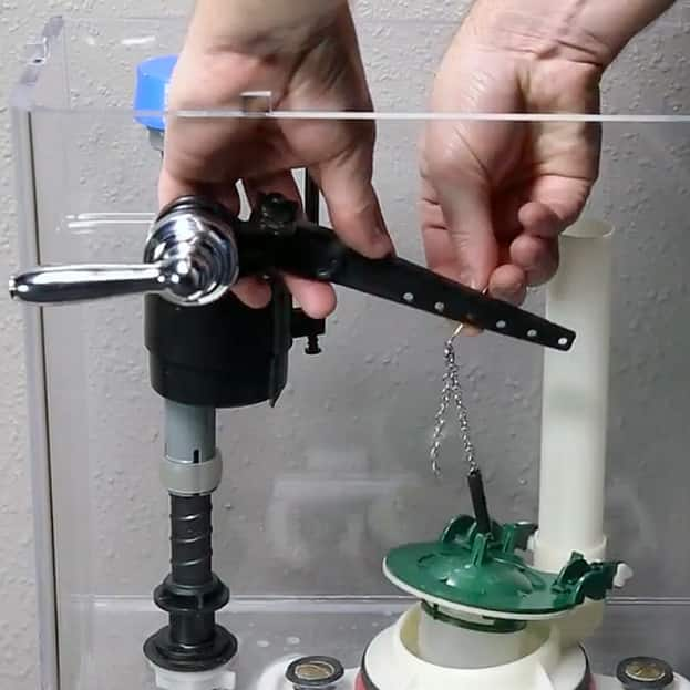 How to Replace a Toilet Handle