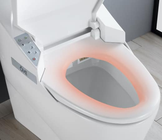 Toilets with Heated Seats