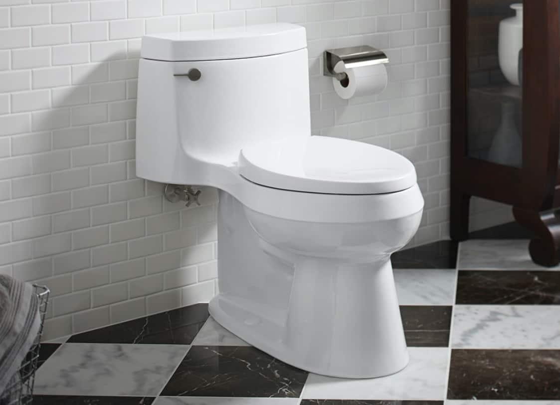 One-Piece Toilets
