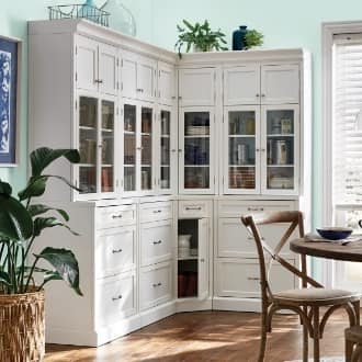 kitchen cabinet types - pantry cabinets
