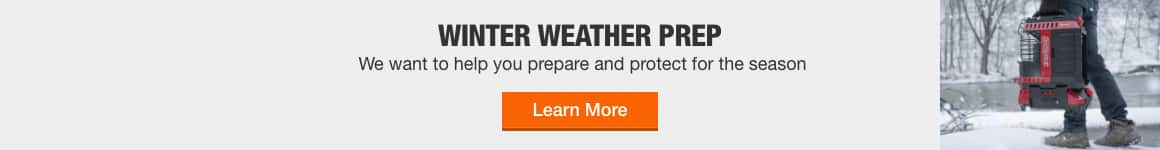 winter weather prep - We want to help you you prepare and protect for the season