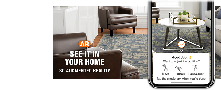 Augmented reality. See it in you home.